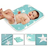 #6: Waterproof Portable Changing Pad for Baby,Children&Adults-Good for Home Use,Travel Needs&Bed Protector by ZHCH(Star S)