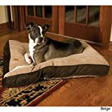 Precision 2420-74479FD 30x40-Inch Floor Pillow Cargo Kennel Bge Suede Wide Chnille