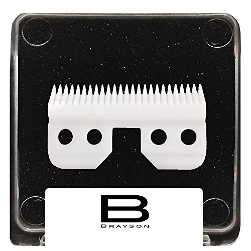 Feed Fast (BRAYSON Barber Grooming Fine Ceramic Blade For Fast Feed Clipper CL-BNOS2F)