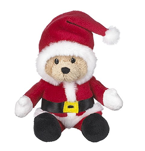 Wee Bears Costumed Teddy Bear: Santa Claus - By Ganz Ganz Soft Bear