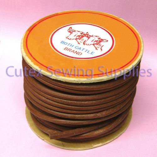 100 Ft Roll Oak Leather Belt For Sewing Machines 1//4 Wide