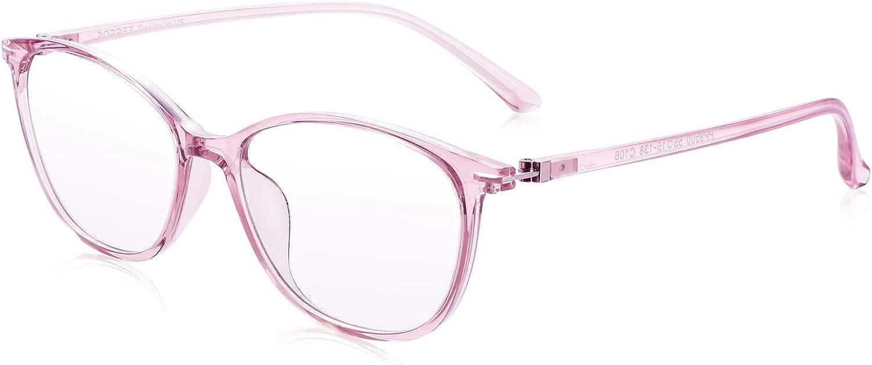 PORPEE Gafas de Ordenador, Gafas Filtro Luz Azul - Protección para Pantalla/Móvil/Tablet/TV - Evita la Fatiga Ocular - Gafas Video Juegos