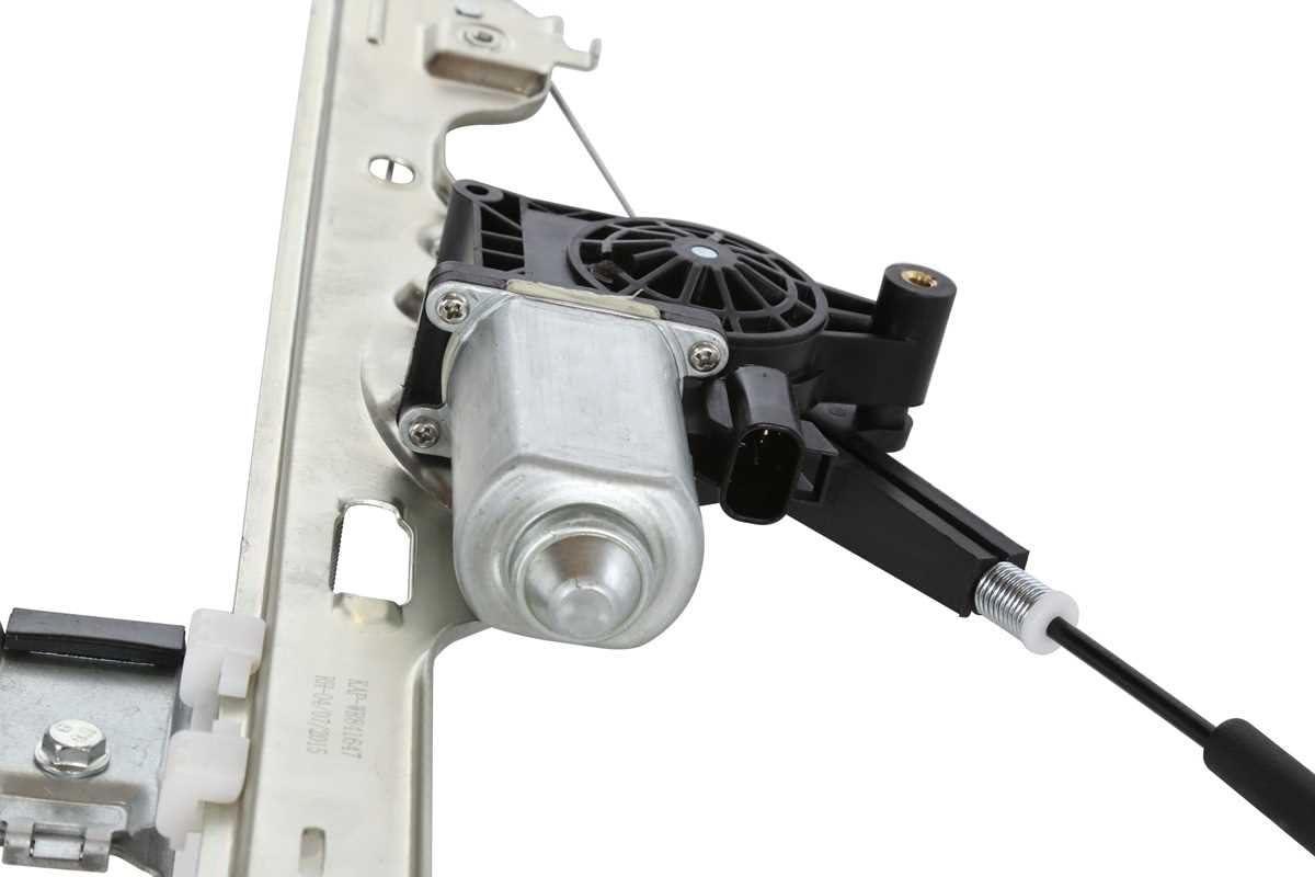 Auto Shack WR841647 Front Passenger Side Power Window Regulator with Motor