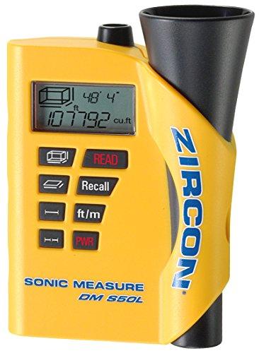 Zircon DM S50L-FFP Tapeless Ultrasonic Measuring System with Laser Targeting (Ultrasonic Measuring Device)