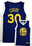 Stephen Curry Golden State Warriors Blue Youth Replica Player Jersey (X-Large 18/20)