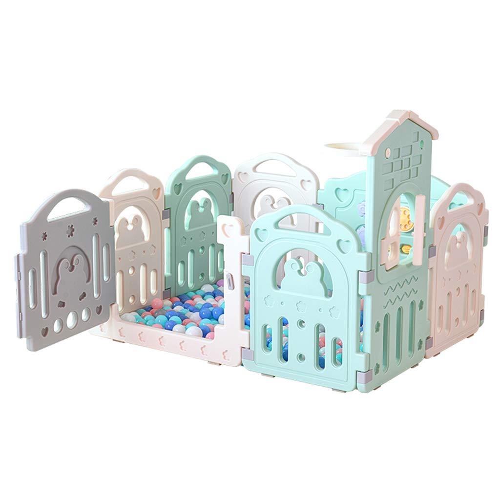 Puzzle Spiel Haus, Baby Kinderzimmer Zu Fuß Krabbeln Spiel Zaun Indoor Anti-Fallen Schutzzaun Spielplatz 54-84 cm