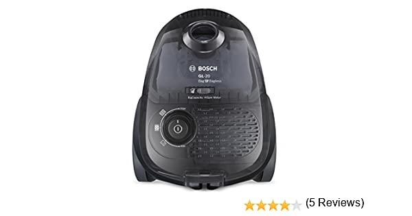 Bosch BGL2UB1128 GL-20 Bag & Bagless - Aspirador con bolsa, diseño compacto, 600 W, cepillo especial parquet, color negro traslúcido: Amazon.es: Hogar