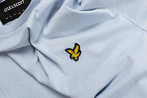 Uomo Blu Logo amp; Scott shirt Lyle T Sz77Zq