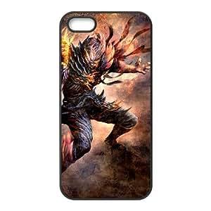 soul sacrifice iPhone 5 5s Cell Phone Case Black Customized Items zhz9ke_7300083