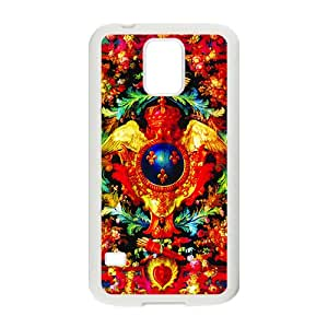 Creative Red Totem Pattern Custom Protective Hard Phone Cae For Samsung Galaxy S5