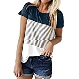 UONQD Woman t shirts men shirt latest stylish branded nice offer s tee cheap novelty websites store wholesale retro sites personalized blank funky it a funny(Medium,Navy )