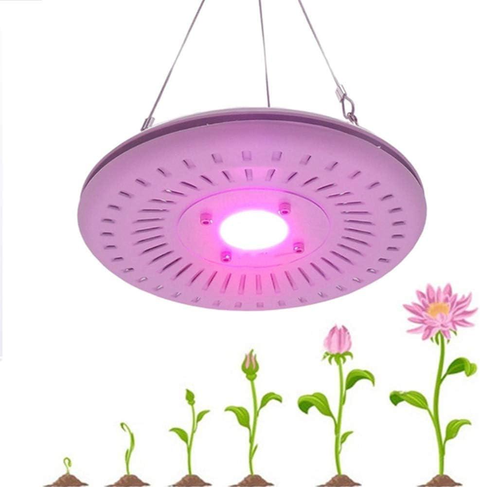 Lámpara de la planta LED crece la luz, la luz de espectro completo de la planta, con el interruptor de botón y natural de refrigeración (disipación de calor), for plantas de interior Veg Y Flor