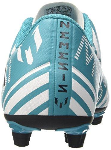 adidas Herren Nemeziz Messi 17.4 FxG Fußballschuhe Blau (Footwear White/Legend Ink/Energy Blue)