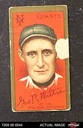 Amazoncom 1911 T205 Both Hooks Wiltse New York Giants