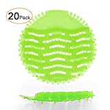 Ikeda scents 20 Pack HonTop Urinal Screens Deodorizer Anti Splash Technology - Fits Most Top Urinal Brands at Restaurants, Office Building, Home, Schools, etc. (20-Pack, Green - Melon)