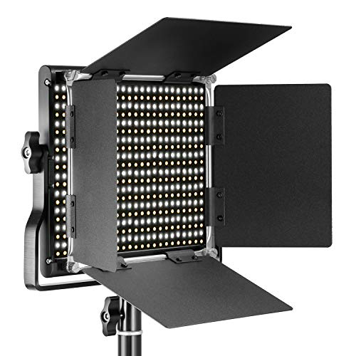 Neewer Professional Metal Bi-color LED Video Light for Studi