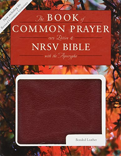 The Book of Common Prayer & the Holy Bible, Nrsv, Red