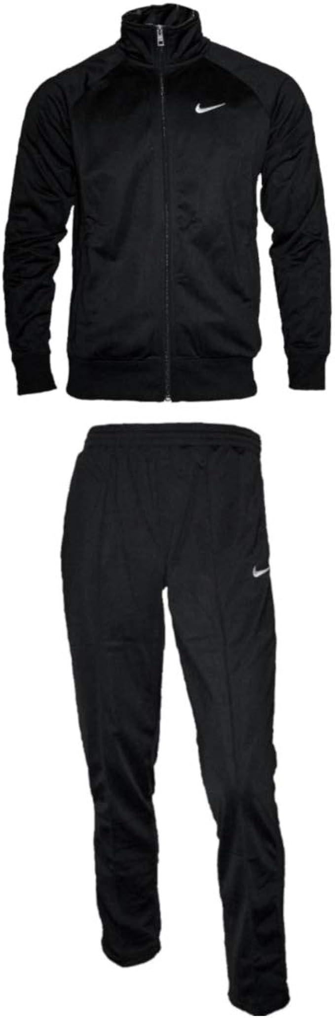 instructor intercambiar ética  Nike Herren Trainingsanzug Schwarz Gr. S: Amazon.de: Bekleidung