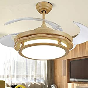 RS Lighting 42 Inch Ceiling Fans With Lights Telescopic Ceiling Fan For Study