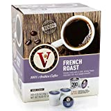Victor Allen Coffee, French Roast Single Serve K-cup, 200 Count (Compatible with 2.0 Keurig Brewers)