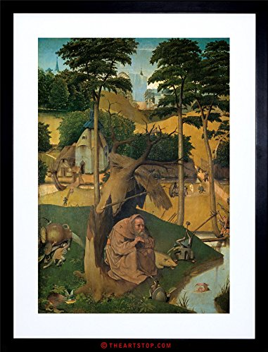 The Art Stop Painting Bosch Temptation of ST Anthony Framed Print F12X3633