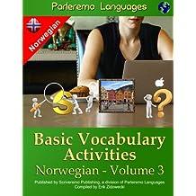 Parleremo Languages Basic Vocabulary Activities Norwegian - Volume 3