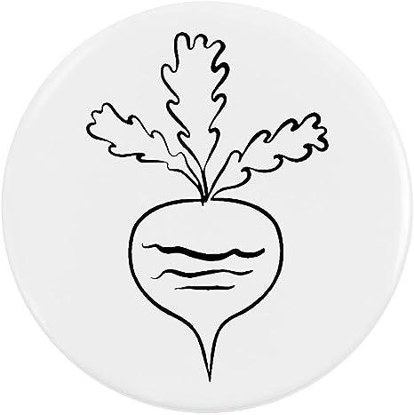 BB00055439 58mm /'Turnip/' Medium Button Pin Badge