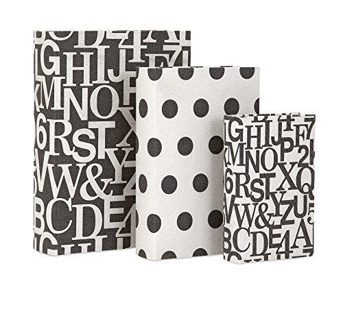 imax-96417-3-margie-book-boxes-set-of-3-black-white