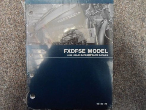 2009 Harley Davidson FXDFSE Parts Catalog Manual FACTORY OEM BOOK X ()