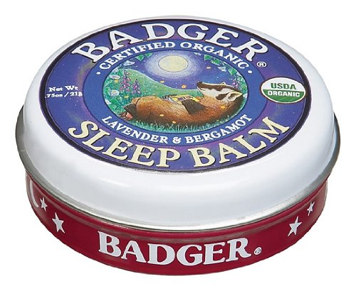 Badger Balm sommeil (Lavande & Bergamote) [0.75 oz Tin]