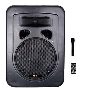 QFX SBX-1818BT Bluetooth 800W PA Speaker Combo Pack