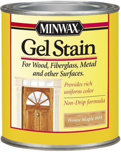 Minwax 66040 1 Quart Gel Stain Interior Wood, Honey Maple by Minwax ()