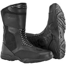 Firstgear Mens Mesh Hi Motorcycle Boots Black 8