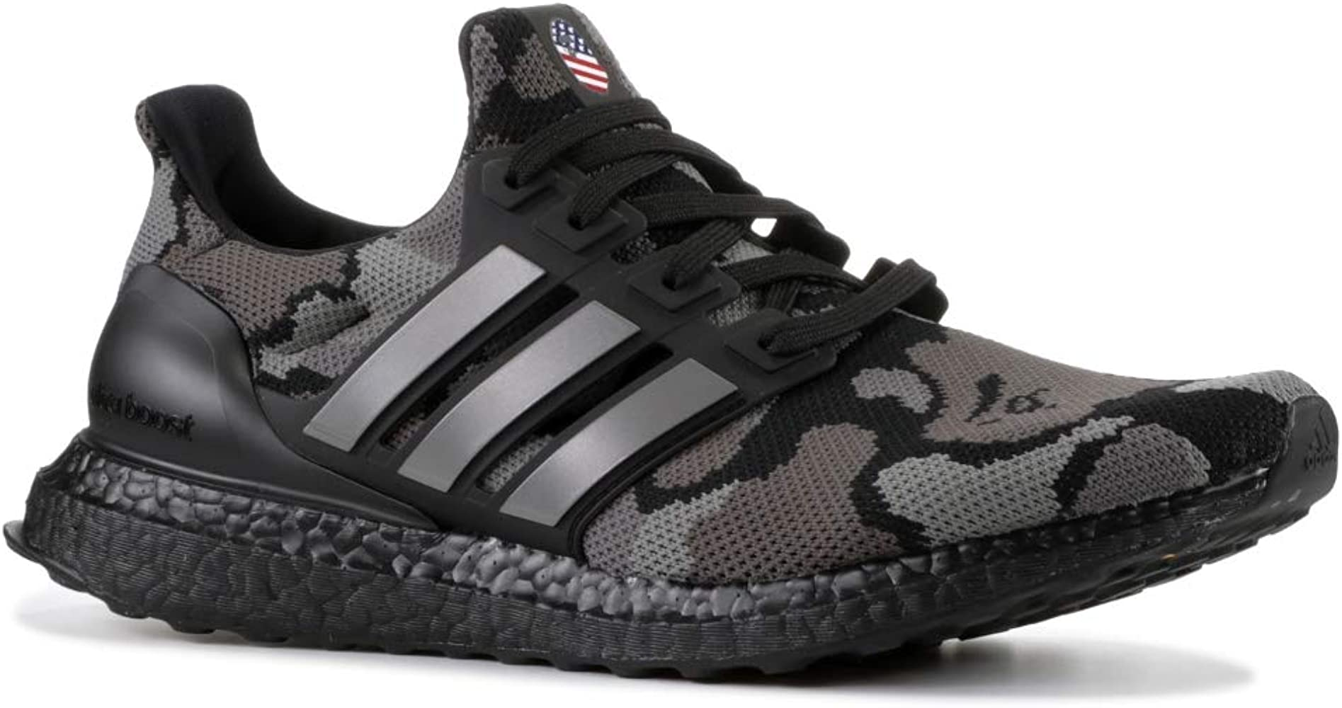 adidas Bape X Ultraboost 'Black Camo