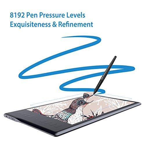 HUION Inspiroy Q11K Wireless Drawing Tablet 11inch Digital