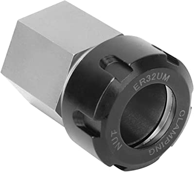 Hex ER-32 Collet Block Heavy Duty Hardened Steel Tool CNC Machines Acce