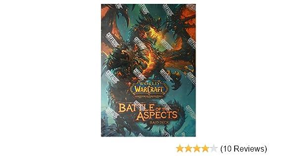 Amazon.com: Cryptozoic Entertainment World of Warcraft Battle of the Aspects Raid Deck: Toys & Games