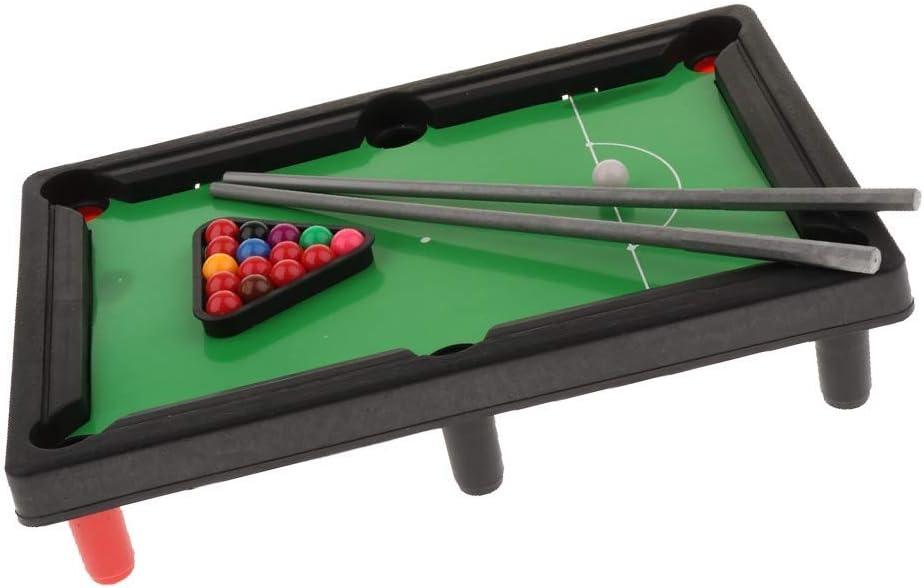 LBSX Juego de Billar Pool Cue Mini Juego de Juguete Educativo for ...