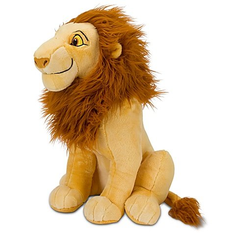 Simba Lion King Costume (The Lion King Adult Simba Plush -- 17'')