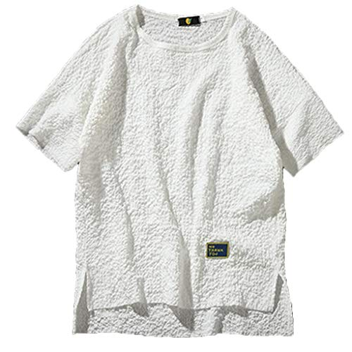 FONMA Summer Men's Trend Personality Casual Loose Round Neck T-Shirt ()