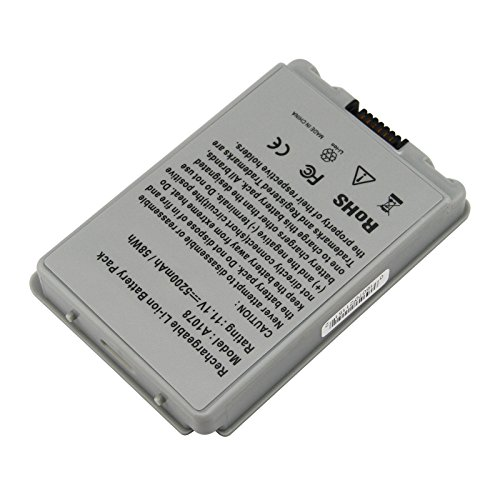 A1045 New Laptop Battery for Apple PowerBook G4 15-inch Aluminum 15-Inch a1095 A1106 M9676Z/A M9677B/A A1078 A1148