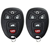 2 KeylessOption Replacement 5 Button Keyless Entry Remote Start Control Key Fob Compatible with 22733524