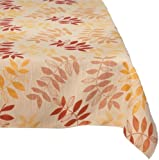Trendex Home Designs Hudson Tablecloth, 60 by 102-Inch, Canyon
