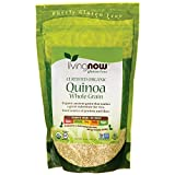 NOW Foods Organic Whole Grain  Quinoa, 16-Ounce