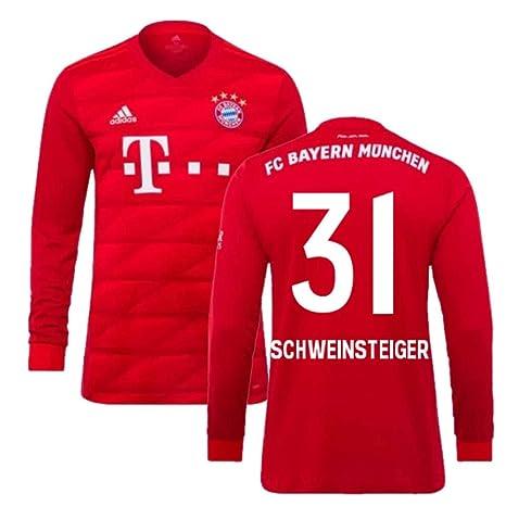 UKSoccershop 2019 2020 Bayern Monaco Adidas Home Maglietta