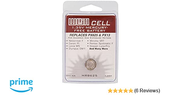 2 x WeinCell MRB625 Replacement Battery for PX625//PX13