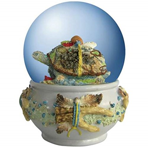 65 mm Turtle With Imagery In Collectible Decorated Water Globe