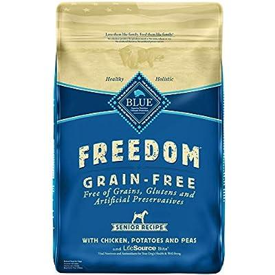 Blue Buffalo Freedom Grain Free Natural Senior Dry Dog Food