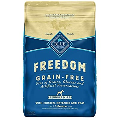 Blue Buffalo Freedom Grain Free Natural Senior Dry Dog Food
