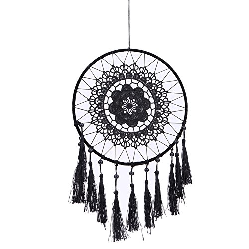 Vintage Handmade Dream Catcher Net with Feather Home Hanging Craft Gift Dreamcatcher Decoration Ornament Car Hanging Decoration B